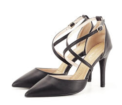 SOFILINE Pantofi negri cu toc cui Zoe (9309 BLACK -38)