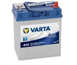 VARTA A14 Blue Dynamic 40Ah EN 330A right+ (540 126 033)