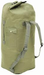 VidaXL Rucsac în stil militar, 85 L, verde măsliniu (91385)