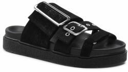 Inuikii Șlapi Leather Straps 70104-031 Negru