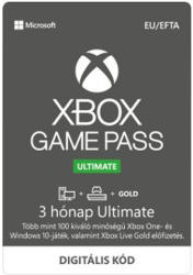 Microsoft Xbox Game Pass Ultimate 3 Month