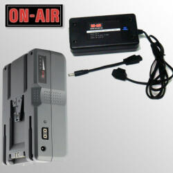 ON-AIR Kit Power ON-AIR 100-Incarcator V-Lock+1 Baterie Li-Ion 100W