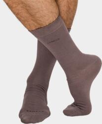 J. Press speciális zokni bambuszból férfiaknak - 45-46 - hamuszürke - D110 (PS-D110-45-46-hamuszürke)