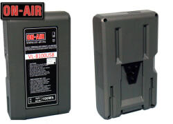 ON-AIR Baterie ON-AIR V-Lock-Li-Ion-14, 8V-6, 6A-100W- Power Tap & USB-Waterproof