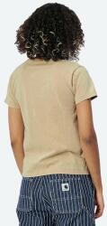 Carhartt WIP W' S/S Mosby Script T-Shirt I029078 DUSTY H BROWN Maro S