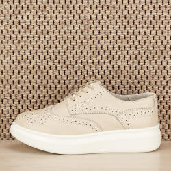 SOFILINE Pantofi oxford din piele naturala Laura bej (CXWL2128APRICOT-39)