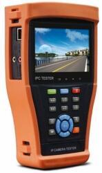 """Hikvision IPC-4300H IP kamera teszter; 4.3""""; érintőkijelző; IP/THD/AHD/analóg kamerákhoz"""