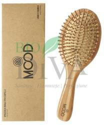 Bio Essenze Perie pentru păr ovală din lemn de bambus Mood Bio Essenze