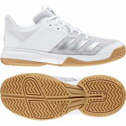 adidas Performance încălțăminte de sală de copii adidas Performance Ligra 6 Youth 28, 5 Alb / Argintiu / Gri
