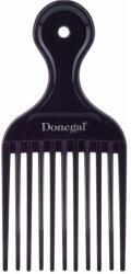 Donegal Pieptene de păr 15, 4 cm, mov - Donegal Afro Hair Comb