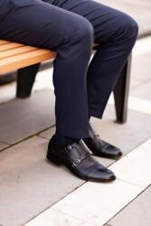 Elite Fashion Fekete Alkalmi Bőr Cipő 39 - elitedivat - 32 990 Ft