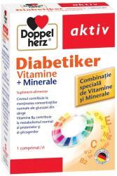 Doppelherz Diabetiker vitamine si minerale, 30 comprimate, Doppelherz