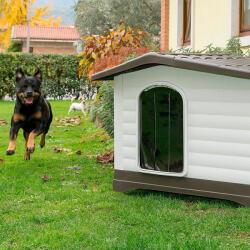 Ferplast DogVilla Door - Пластмасова вратичка за къща Dogvilla 70, 19, 5 x 0, 2 x h 30, 3 см