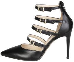 Pantofi cu toc femei V 1969 model SELINE, culoare Negru, marime 39 EU - imatrend - 206,99 RON
