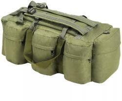 vidaXL Geantă 3-în-1 în stil army, 120 L, Verde măsliniu (91388) - comfy