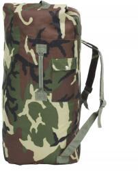 vidaXL Rucsac în stil militar, 85 L, camuflaj (91386) - comfy