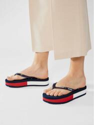 Tommy Jeans Flip flop Rubber Thong Mid Beach Sandal EN0EN01301 Bleumarin