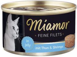 Miamor Feine Filets - Tuna & Shrimp Tin 100g