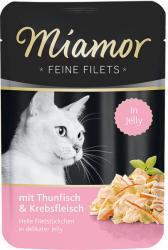 Miamor Feine Filets - Tuna & Shrimp 100g