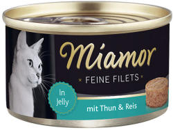 Miamor Feine Filets - Tuna & Rice Tin 100g