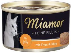 Miamor Feine Filets - Tuna & Cheese Tin 100g