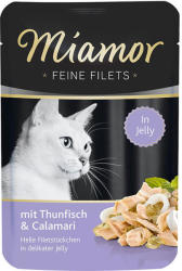 Miamor Feine Filets - Tuna & Calamari 100g