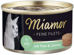 Miamor Feine Filets - Tuna & Vegetables Tin 100g