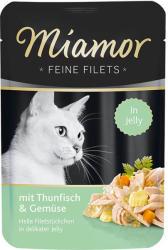 Miamor Feine Filets - Tuna & Vegetables 100g
