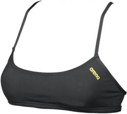 arena bandeau play black/yellow star xs