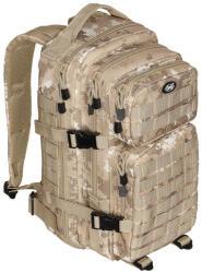 MFH Rucsac modular Assault, 30 litri, multiple buzunare, compatibil sistem hidratare, camuflaj vegetato desert MFH - antomaragro