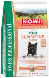 Biomill Swiss Professional Mini Sensitive salmon & rice 8kg