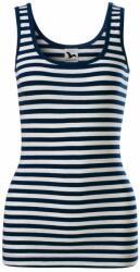 Adler (MALFINI) Maiou bleumarin pentru femei Sailor - Albastru marin - XXL