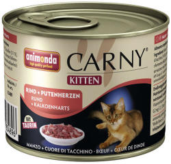 Animonda Carny Kitten Beef & Turkey Heart 200g