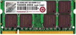 Transcend 2GB DDR2 667MHz JM667QSU-2G