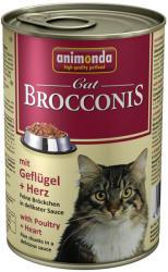 Animonda Brocconis Cat Poultry & Heart Tin 400g