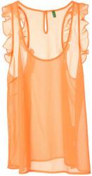 Benetton sifon női Blúz - narancssárga