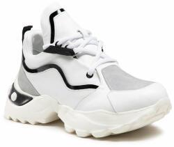 Carinii Sneakers B6219 Alb
