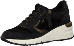 Tamaris Sneakers dama, piele naturala, 23702-27 negru