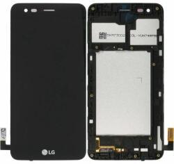 LG Display LG K4 2017 M160 Cu RAMA Si Touchscreen Negru