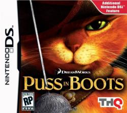 THQ Puss in Boots (Nintendo DS)