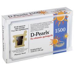 Pharma Nord D-Pearls D3-vitamin Gyöngyök (80db)