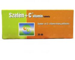 Szelén + C-Vitamin Tabletta (30db)
