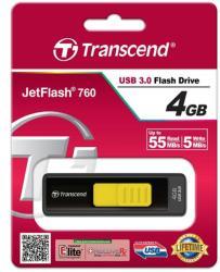 Transcend Jetflash 760 4GB TS4GJF760