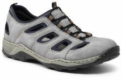 Rieker Pantofi 08065-45VE Gri