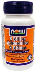 NOW Acidophilus & Bifidus kapszula - 60 db