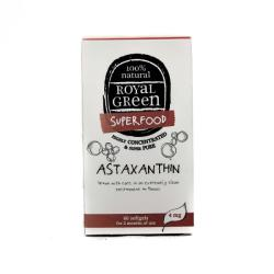 Royal Green Astaxanthin antioxidáns kapszula 60db