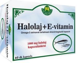 Herbária Halolaj + E-vitamin kapszula (60db)