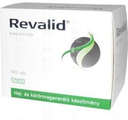 Teva Revalid haj- és körömregeneráló kapszula 90db