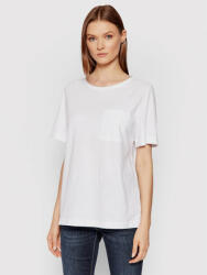 United Colors Of Benetton Tricou 3BVXE18A0 Alb Relaxed Fit