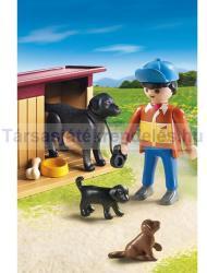 Playmobil Kutyák és farmergazda (5125)